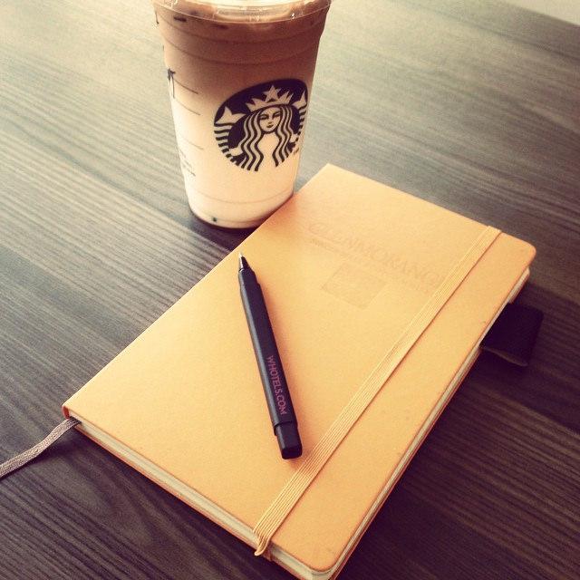 生意人做筆記的方式
